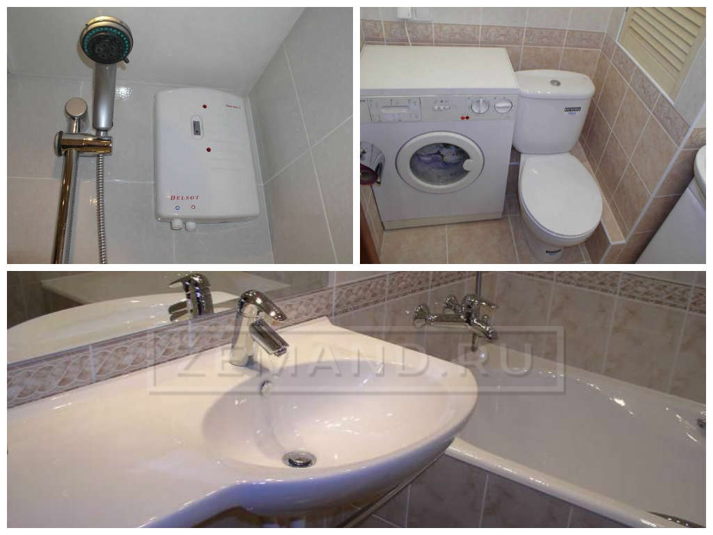 ванная комната в новостройке